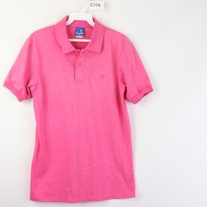 90s Ocean Pacific OP Mens Small Polo Shirt Pink